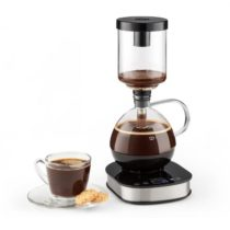 Klarstein Drop Syphon, vákuový kávovar, 360° základňa, LCD displej, 500 W, funkcia udržania tepla, s...