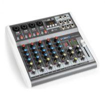 Vonyx VMM-K602 6-kanálový hudobný mixážny pult, bluetooth, USB-Audio-Interface