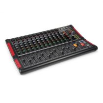 Power Dynamics PDM-M1204, mixážny pult, 12 mikrofónových vstupov, multi-FX-procesor