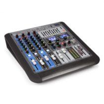 Power Dynamics PDM-S604, mixážny pult, 6-kanálový, DSP/MP3, USB port, bluetooth prijímač