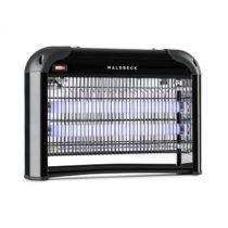 Waldbeck Mosquito Ex 4000, lapač hmyzu, 30W, hubič hmyzu, UV svetlo, 100m², čierna