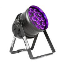 Beamz BPP230 PAR 64, LED reflektor, 14 x 15 W UV LED diód, 150 W, DMX/samostatná prevádzka, čierny
