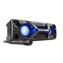 Auna Ultrasonic BT, boombox, bluetooth, 2 x 20 W, LCD displej, funkcia karaoke, čierny