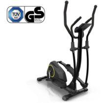 KLARFIT Epsylon Cycle AS, crossový trenažér, 12 kg zotrvačník, remeňový pohon, čierny