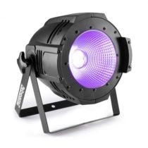 Beamz Professional COB100UV PAR, UV LED, 100 W, DMX alebo samostatná prevádzka, čierny