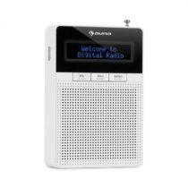 Auna DigiPlug DAB, rádio do zásuvky, DAB+, FM/PLL, BT, LCD displej, biele