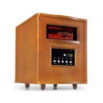 Klarstein Heatbox, infračervený ohrievač, 1500 W, 12-hod. časovač, diaľkový ovládač, dub