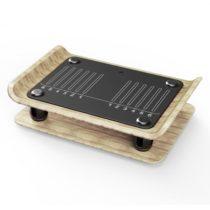 KLARFIT Roomik Shake, vibračná plošina, 15 - 55 Hz, certifikovaná breza, diaľkový ovládač