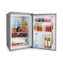 Klarstein Springfield Eco, chladnička, A+++, priečinok na zeleninu, 2 sklenené police, vzhľad nerezo...