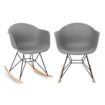 Blumfeldt Skandi, hojdacia stolička, sada 2 kusov, polypropylén, sivá