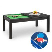 OneConcept Liverpool, 3-v-1, hrací stôl, 7' biliardový stôl, stôl stolný tenis, jedálenský stôl, čie...