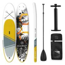 KLARFIT Kauai Flow, nafukovací paddleboard, SUP-Board-Set, 305 x 10 x 77 cm