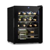Klarstein Shiraz, vinotéka, 42 l, dotykový ovládací panel, 131 W, 5 - 18 °C, čierna