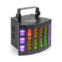 Beamz Magic 1, Derby, stroboskop-/UV-efekt, 7 DMX kanálov, čierny