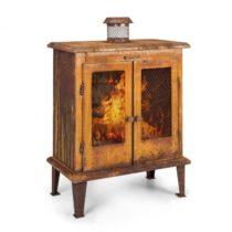 Blumfeldt Flame Locker, ohnisko, vintage záhradný krb, 58 x 30 cm, oceľ, hrdzavý vzhľad