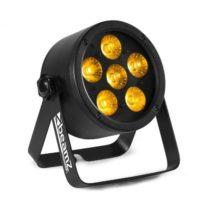 Beamz Professional BAC302, ProPar reflektor, 6 x 12 W, 6 v 1 LED RGBWA-UV diódy, stmievanie, diaľkov...