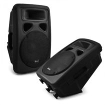 """Skytec pár, 25 cm (10"""") DJ PA reproduktory, 2x reproduktor, 600 W"""