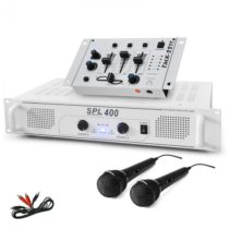 Electronic-Star DJ-94, 1200 W, DJ set, zosilňovač, mixpult, mikrofón