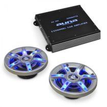 Electronic-Star Auto hi-fi set BeatPilot FX-202, reproduktory, zosilňovač