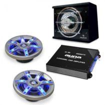 Electronic-Star Auto hi-fi setBeatPilot FX-211, reproduktory, zosilňovač
