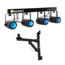 Beamz Light Set 4- LED svetelný efekt sada 5 ks. s držiakom na stenu