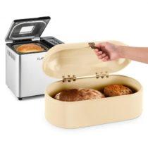 Klarstein Krümelmonster sada na pečenie chleba 550 W pekáreň na chlieb 14,5 litrová nádobka na chlie...