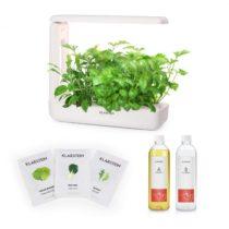 Klarstein GrowIt Cuisine Starter Kit Salad, 10 priesad, 25 W LED, 2 l, Salad Seeds, živný roztok
