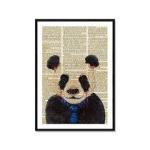Obraz Really Nice Things Newspaper Panda, 40×60cm