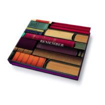 Poznámkový blok Remember Bookworms, 200 listov