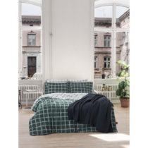 Obliečky s plachtou z ranforce bavlny na dvojlôžko Casual Green, 200 x ...