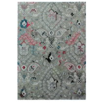 Sivý ručne tkaný koberec Flair Rugs Persian Fusion, 200 × 290 c...