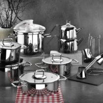Set 18 kuchynského riadu z oceli Anthony