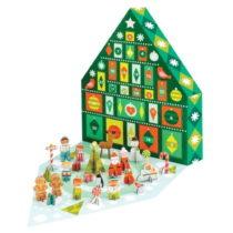 Adventný kalendár s 21 skladacími figúrkami z recyklovan&#xE...