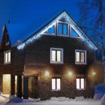 Blumfeldt Dreamhome FM8C, studená biela, 8 m, 160 LED, vianočné osvetlenie