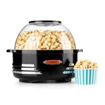 OneConcept Klarstein Couchpotato, čierny, popcornovač, elektrické zariadenie na prípravu popcornu