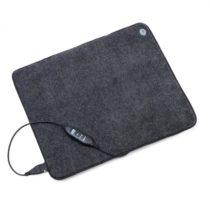OneConcept Magic Carpet DLX, vyhrievacia podložka, 60 x 70 cm, 190 W, 4 teploty, časovač, antracitov...