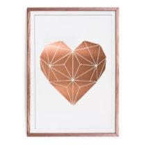 Obraz Really Nice Things Cobre Heart, 60×40 cm