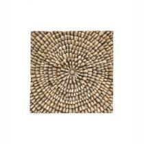 Nástenná dekorácia z teakového dreva WOOX LIVING Bee, 70 &#x...