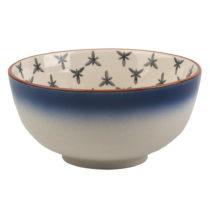 Modro-biela misa z keramiky Creative Tops Drift, ⌀11,5 cm