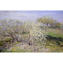 Reprodukcia obrazu Claude Monet - Spring, 90×60cm