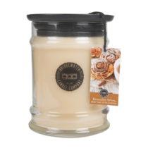 Sviečka s vôňou v sklenenej dóze s vôňou or...