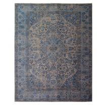Modrý ručne tkaný koberec Flair Rugs Palais, 120 × 170 cm