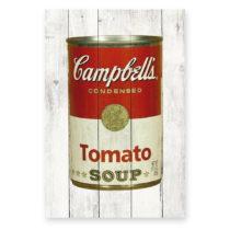 Nástenná ceduľa z borovicového dreva Really Nice Things Tomato ...