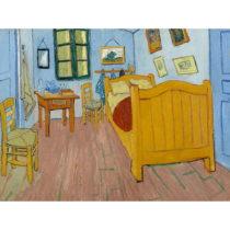 Reprodukcia obrazu Vincenta van Gogha - The Bedroom, 40×30cm