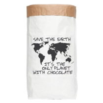 Úložné vrece z recyklovaného papiera Really Nice Things Chocola...