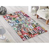 Odolný koberec Vitaus Alphabet, 80×140 cm