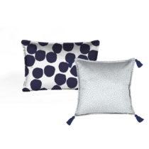 Sada 2 dekoratívnych vankúšov Velvet Atelier Spots, 45&#xD...