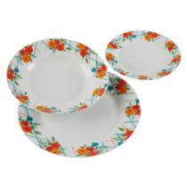 18-dielna sada porcelánových tanierov Versa Fiori Viva