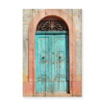 Nástenná ceduľa z borovicového dreva Really Nice Things Door, 4...