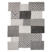 Sivý ručne tkaný koberec Flair Rugs Agra, 160 × 230 cm